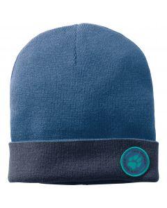 Czapka zimowa dziecięca PAW RIB HAT KIDS indigo blue