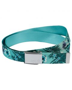 Pasek FLOWER BELT tropical blue