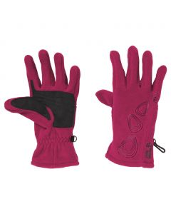 Rękawice PEBBLES GLOVE WOMEN beetroot red