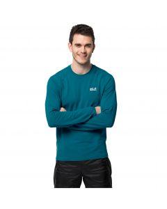 Koszulka z długim rękawem męska INFINITE L/S M Baltic Blue