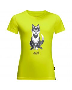 Koszulka dziecięca WOLF T KIDS flashing green