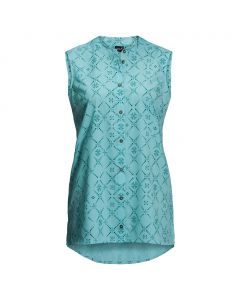 Damska koszulka SONORA MAORI SLEEVELESS aqua all over