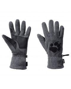 Rękawiczki polarowe PAW GLOVES Grey Heather