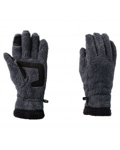 Rękawiczki polarowe CHILLY WALK GLOVE W Ebony