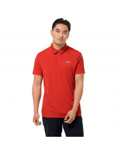 Koszulka sportowa męska JWP POLO M lava red