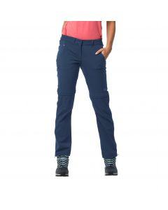 Spodnie z odpinanymi nogawkami OVERLAND ZIP AWAY W dark indigo