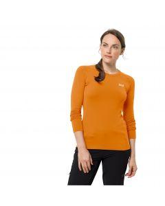Damska koszulka z długim rękawem INFINITE L/S W Orange sky