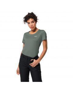 Koszulka sportowa damska TECH T W Hedge Green