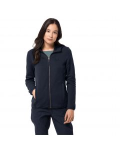 Kurtka polarowa NATORI HOODED JACKET W midnight blue