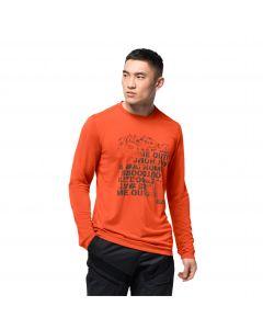 Koszulka z długim rękawem CROSSTRAIL PEAK LONGSLEEVE M wild brier