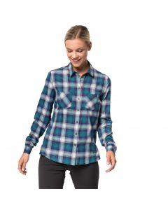 Damska koszula SARU SHIRT W dark plum checks