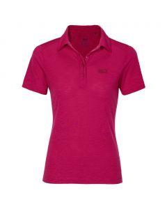 Koszulka TRAVEL POLO 2 W azalea red