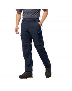 Spodnie softshell ACTIVATE LIGHT ZIP OFF MEN night blue