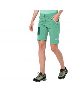 Spodenki damskie OVERLAND SHORTS W pacific green