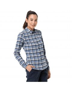 Koszula w kratę damska LIGHT VALLEY SHIRT W bluewash checks