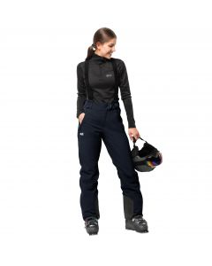 Spodnie EXOLIGHT PANTS WOMEN midnight blue
