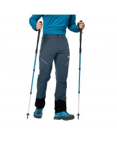 Spodnie softshell męskie GRAVITY SLOPE PANTS MEN Orion Blue