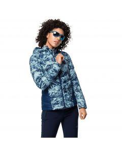 Kurtka puchowa damska HELIUM PEAK HOODY W frosted blue all over
