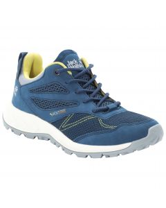 Buty na lato WOODLAND VENT LOW W blue / lemon