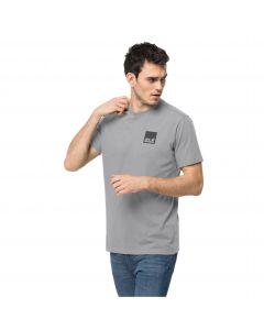 Męska koszulka z krótkim rękawem RAINBOW PAW T M Silver Grey