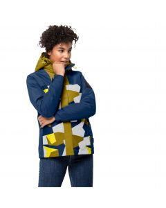 Kurtka damska 365 HIDEAWAY JACKET W vibrant yellow all over