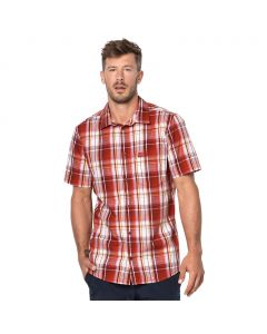 Koszulka HOT CHILI SHIRT MEN volcano red checks