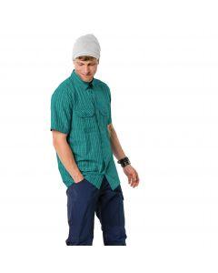 Koszulka THOMPSON SHIRT MEN emerald green checks