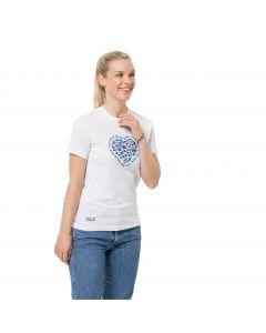Damska koszulka z krótkim rękawem SEA GROUND T W White Rush