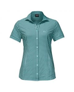 Damska koszula KEPLER SHIRT WOMEN teal green checks