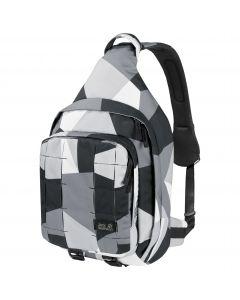 Torba - plecak na jedno ramię TRT 10 BAG grey geo block