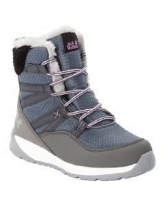 Zimowe buty dla dzieci POLAR WOLF TEXAPORE HIGH K Pebble Grey / Off-white