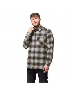 Koszula męska LIGHT VALLEY SHIRT Bonsai Green Checks
