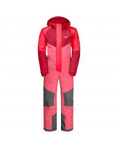 Kombinezon narciarski dziecięcy GREAT SNOW SNOWSUIT KIDS coral pink