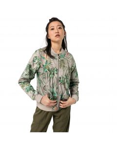 Kurtka damska TROPICAL BLOUSON W dusty grey allover