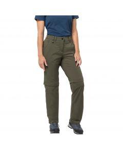 Spodnie softshell ACTIVATE LIGHT ZIP OFF WOMEN grape leaf