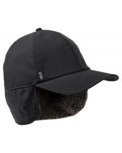Czapka zimowa z daszkiem FIERCE WIND CAP M Black