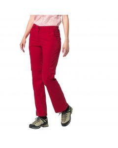 Spodnie softshell ACTIVATE LIGHT ZIP OFF WOMEN scarlet