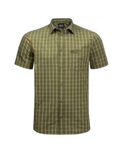 Koszulka HOT SPRINGS SHIRT M woodland green checks