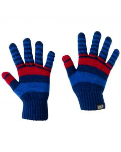 Rękawice CROSS KNIT GLOVES KIDS royal blue