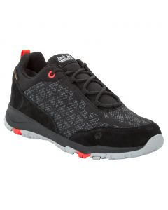 Damskie buty na wędrówki ACTIVATE XT TEXAPORE LOW W black / orange coral