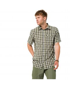 Koszula męska NAPO RIVER SHIRT dark moss checks