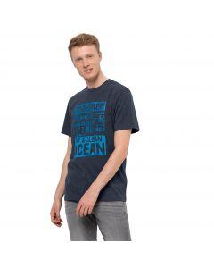 Koszulka z krótkim rękawem męska SEA GROUND T M Night Blue
