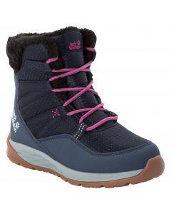 Zimowe buty dla dzieci POLAR WOLF TEXAPORE HIGH K Dark Blue / Grey