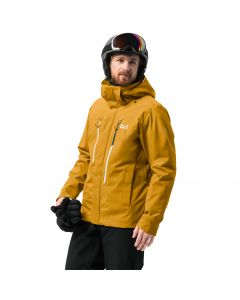 Kurtka puchowa EXOLIGHT 3IN1 MEN golden yellow