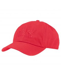 Czapka z daszkiem BASEBALL CAP tulip red