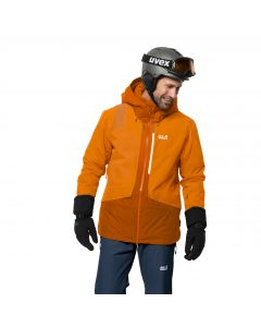 Męska kurtka narciarska BIG WHITE JACKET M rusty orange