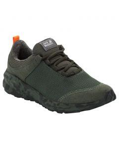 Buty sportowe dla dzieci COOGEE WT LOW K dark green / orange