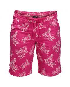 Spodenki POMONA TROPICAL SHORTS WOMEN tropic pink all over