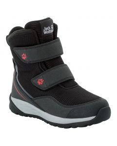 Buty zimowe dla dzieci POLAR BEAR TEXAPORE HIGH VC K black / red