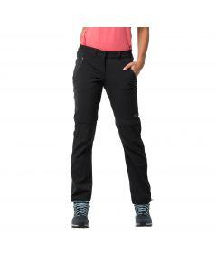 Spodnie z odpinanymi nogawkami OVERLAND ZIP AWAY W black